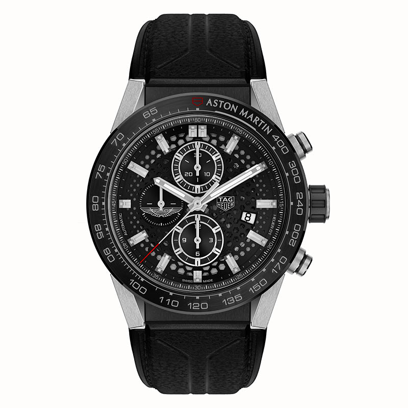 TAG Heuer Chronographes Editions Spéciales Aston Martin - TAG Heuer Carrera Calibre Heuer 01