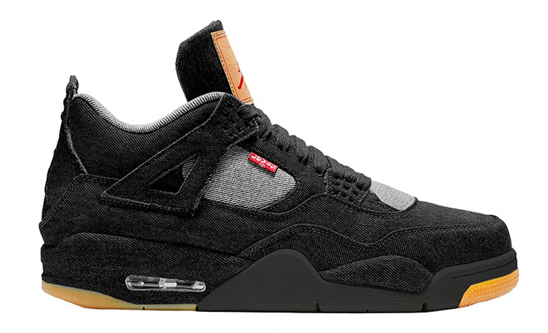 Air Jordan 4 x Levi's Black Denim