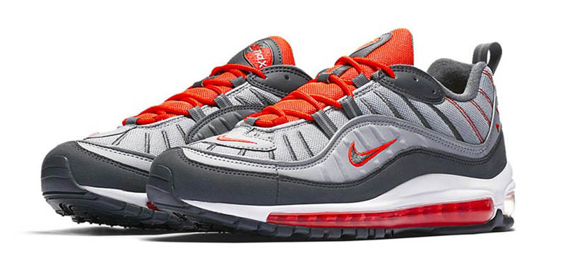 Nike Air Max 98 Habanero Red