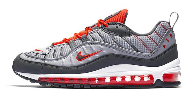 Nike Air Max 98 Habanero Red