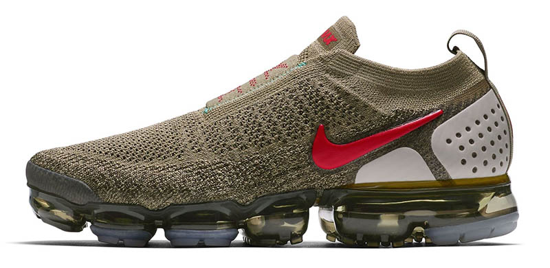 Nike Air VaporMax Moc 2 Olive & Red