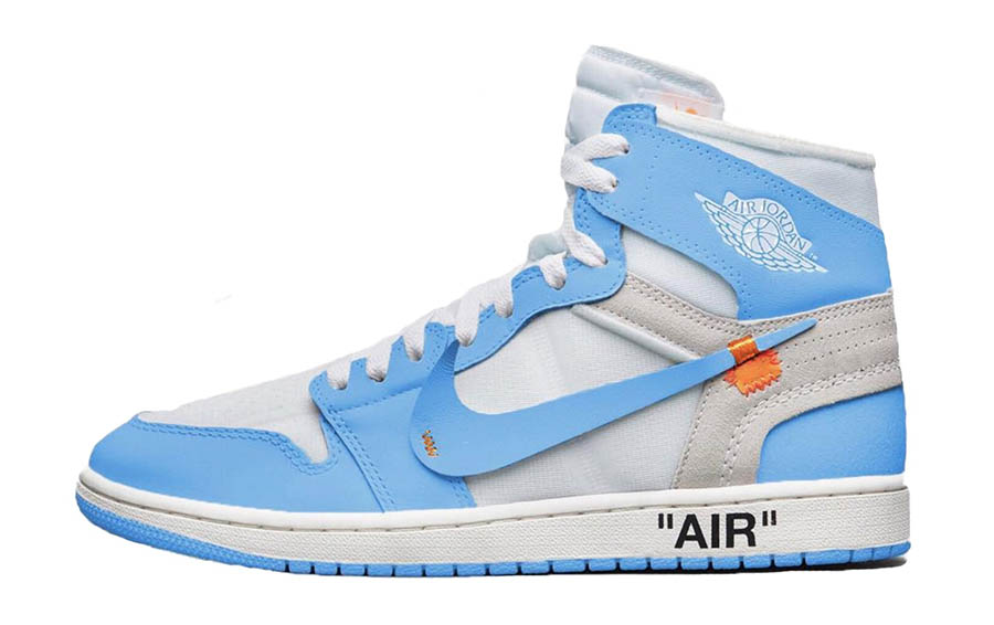 Off-White x Air Jordan 1 UNC