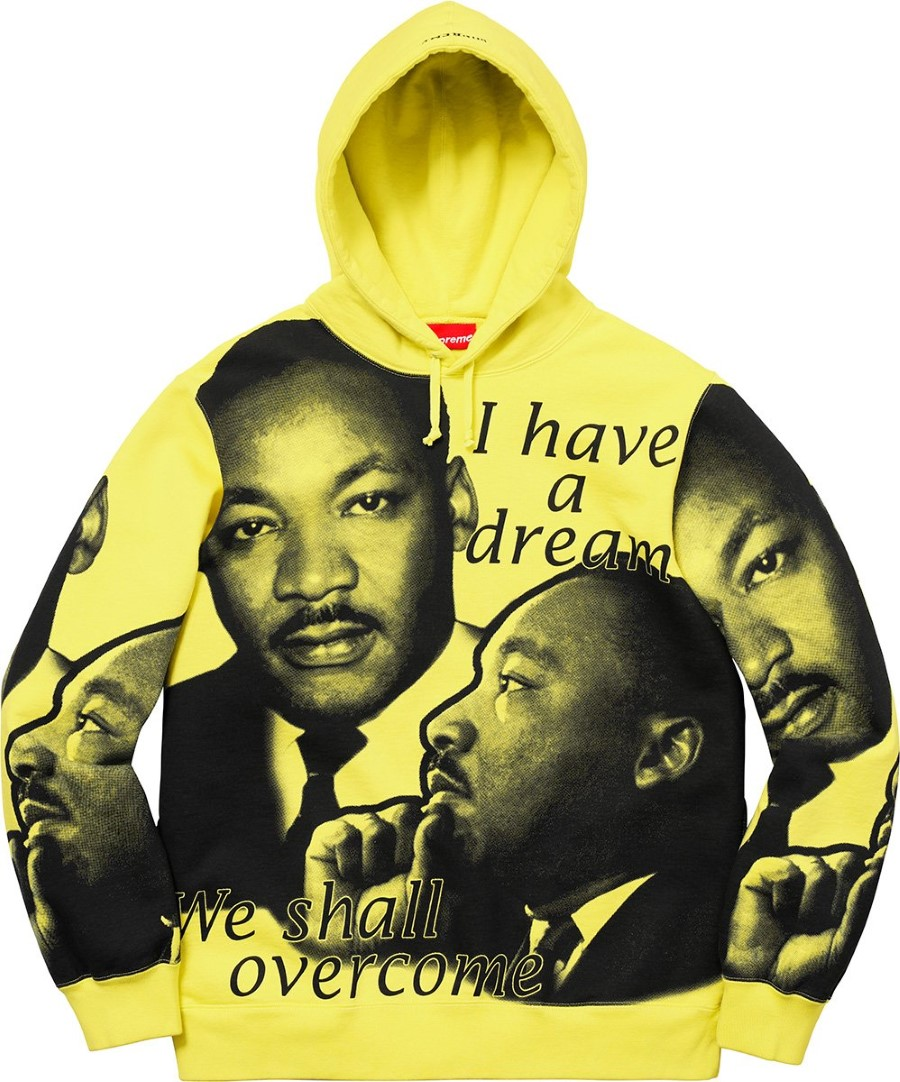 Supreme - Sweatshirt Martin Luther King