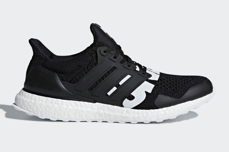 Undefeated x adidas Ultra Boost Black White