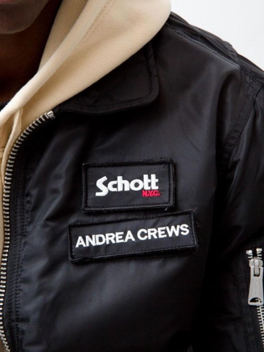 Andrea Crews x Schott NYC Automne-Hiver 2018