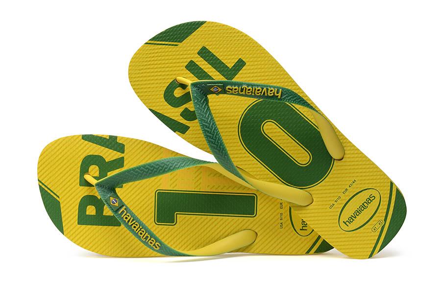 Havaianas - Coupe du Monde 2018 Brésil 1