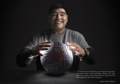 Hublot Ambassador Diego Maradona - Champion advice