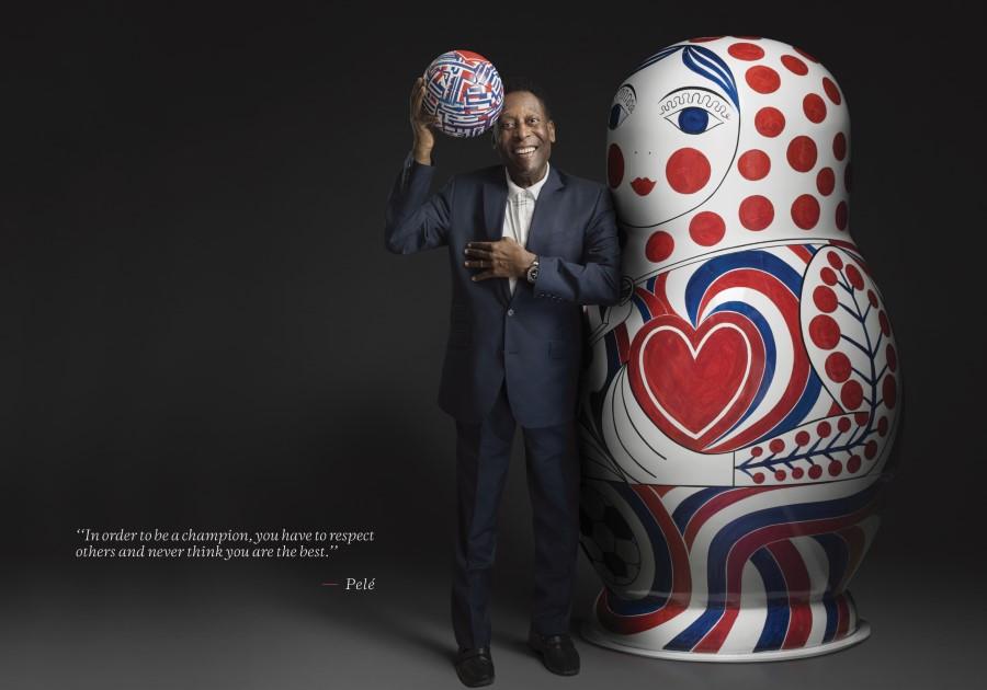 Hublot Ambassador Pelé - Champion advice