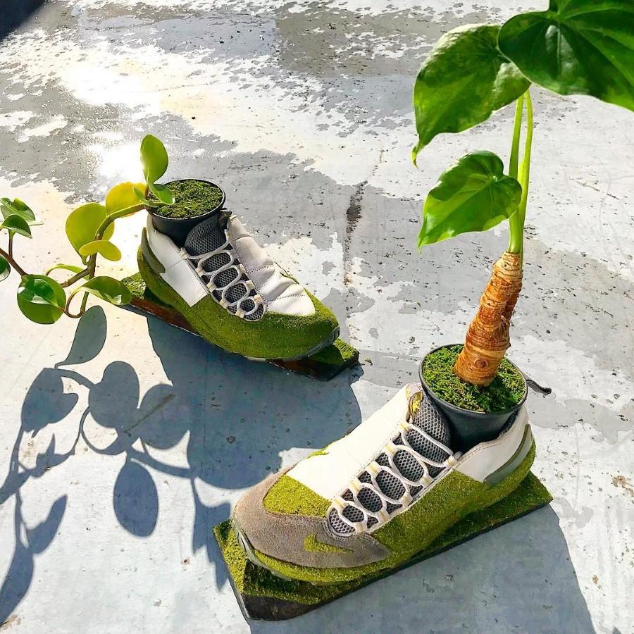 Kosuke Sugimoto - Baskets Jardinières Nike Air Footscape Leather 2005