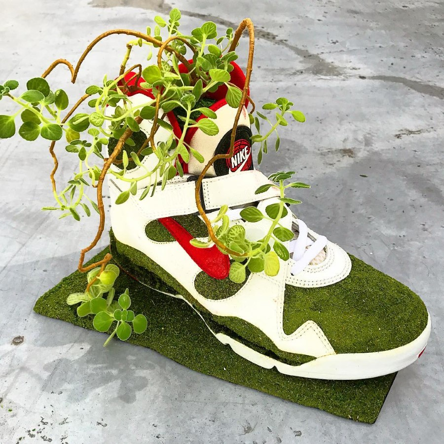 Kosuke Sugimoto - Baskets Jardinières Nike Air Force Max LS 1993