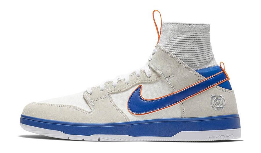 Medicom Toy x Nike SB Dunk Elite High