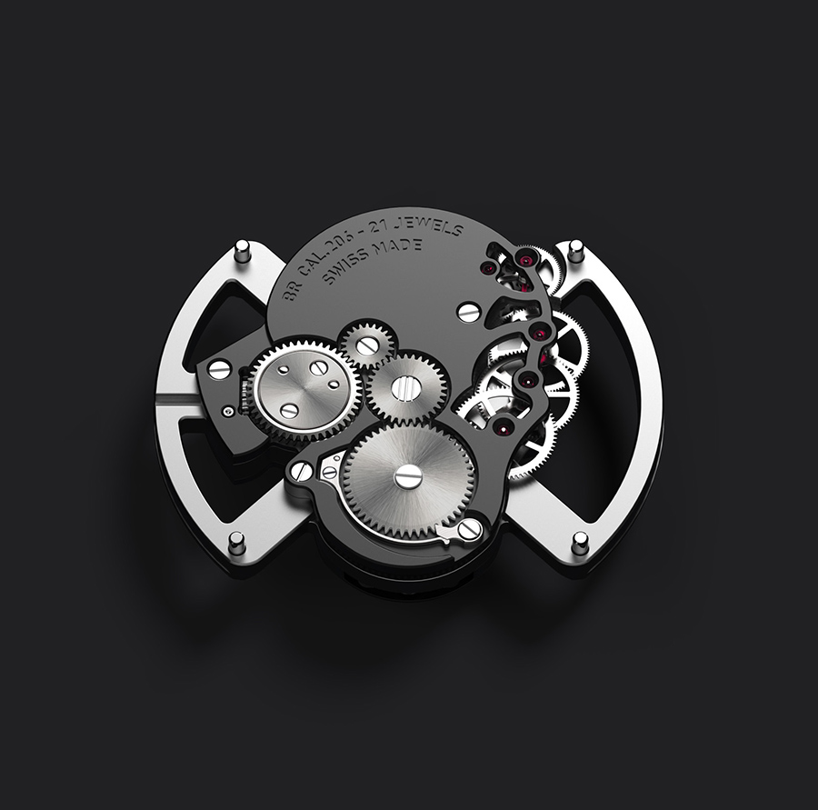 Bell & Ross BR01 Laughing Skull