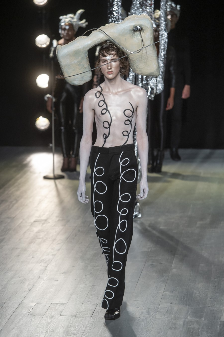 Charles Jeffrey LOVERBOY Printemps/Été 2019 – London Fashion Week Men's