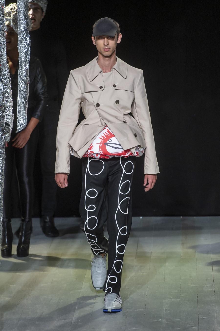Charles Jeffrey LOVERBOY Printemps/Été 2019 – London Fashion Week Men's