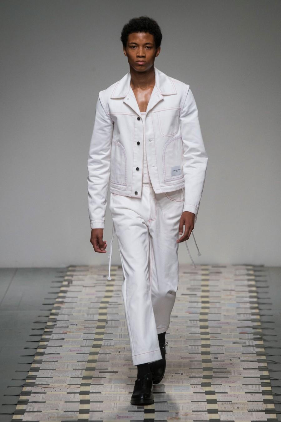 Daniel W. Fletcher Printemps/Été 2019 - London Fashion Week Men's