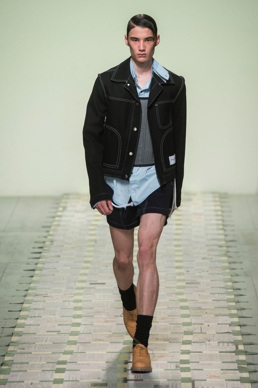 Daniel W. Fletcher – Printemps/Été 2019 – London Fashion Week Men's