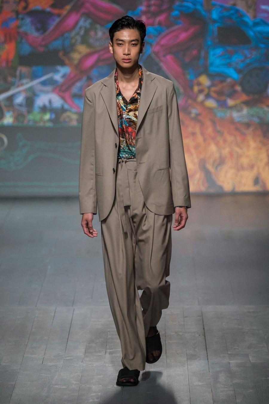 Edward Crutchley Printemps/Été 2019 - London Fashion Week Men's