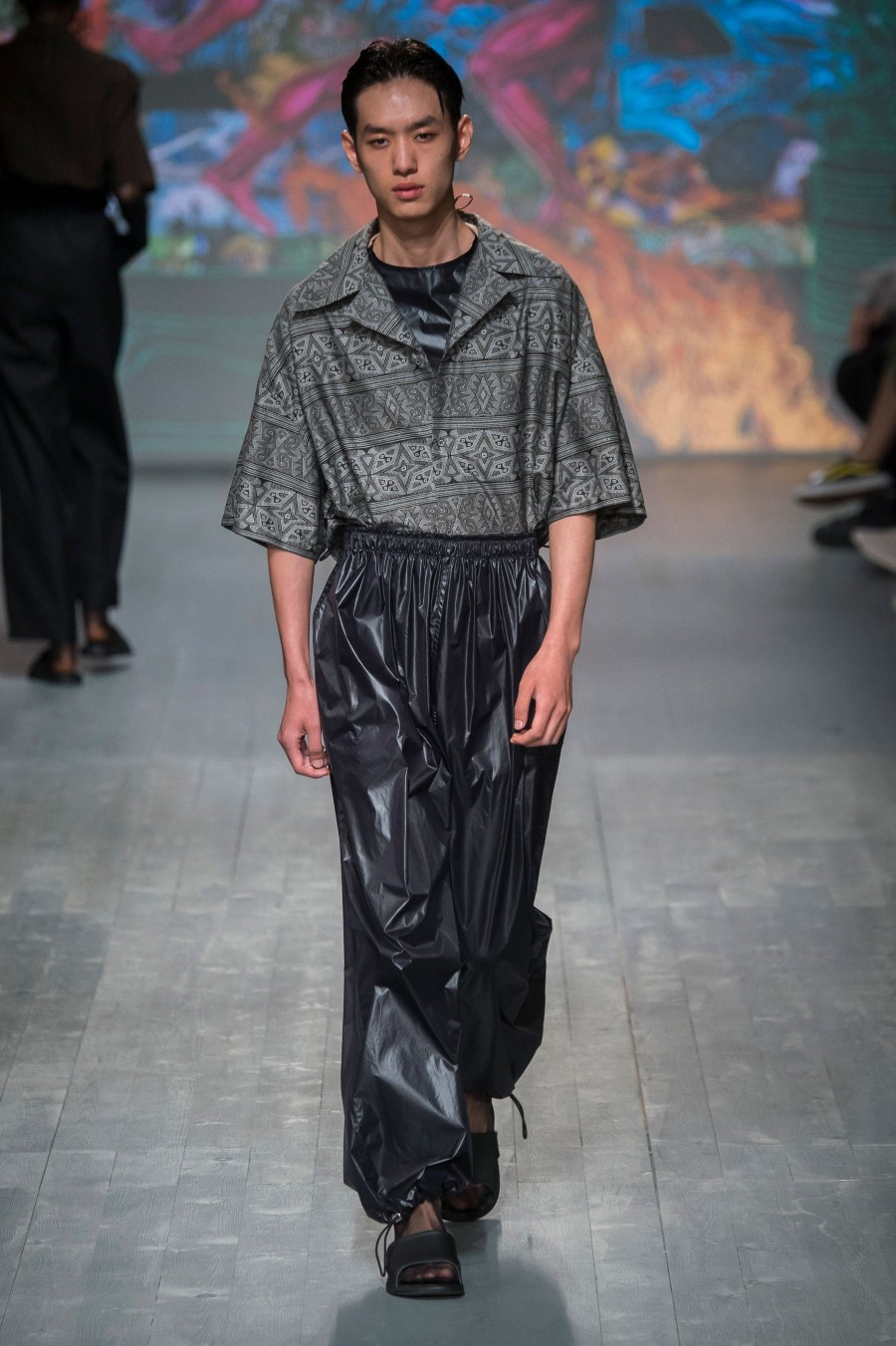 Edward Crutchley Printemps/Été 2019 - London Fashion Week Men's