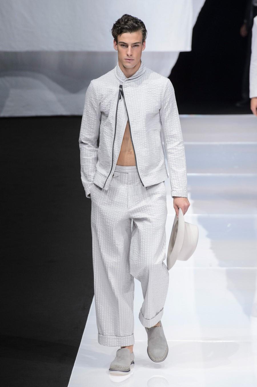 Giorgio Armani Spring Summer 2019 - Milan Fashion Week