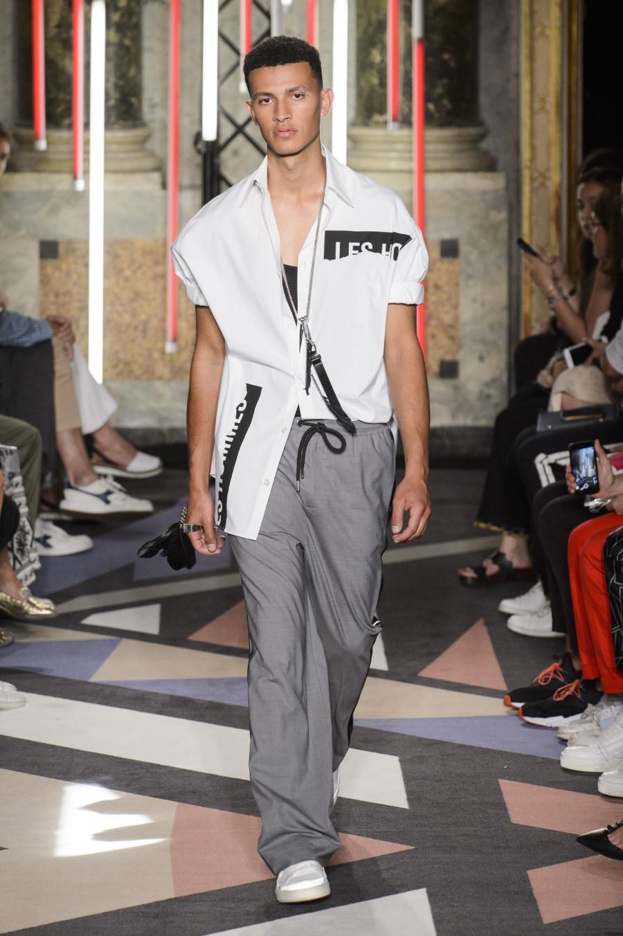 Les Hommes Printemps/Été 2019 - Milan Fashion Week