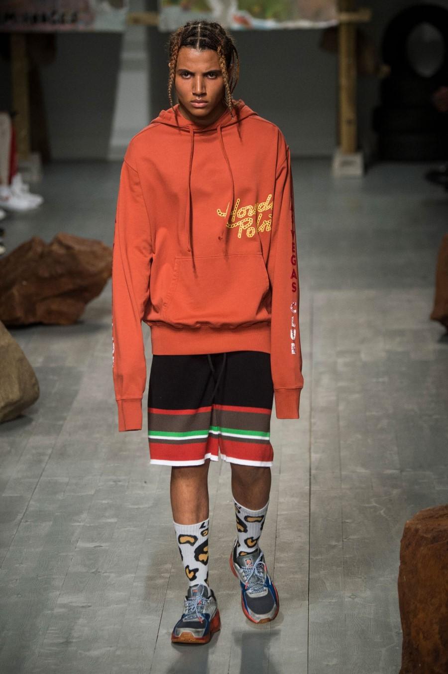 Liam Hodges Printemps/Été 2019 - London Fashion Week Men's