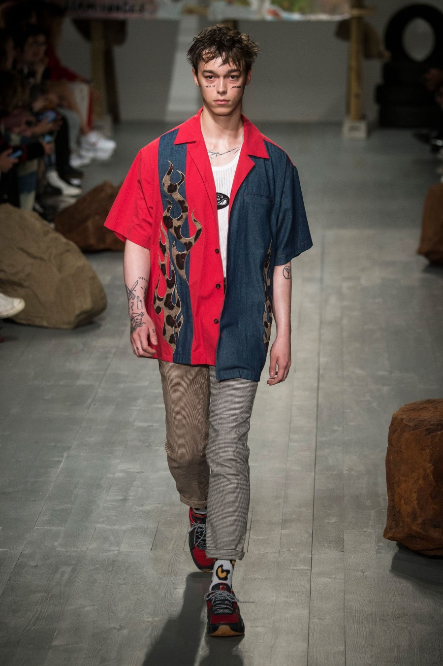Liam Hodges Printemps/Été 2019 - London Fashion Week Men's