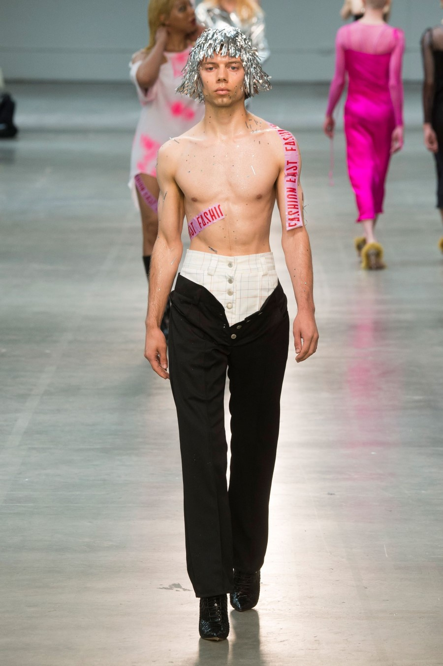 MAN Art School Printemps/Été 2019 – London Fashion Week Men's