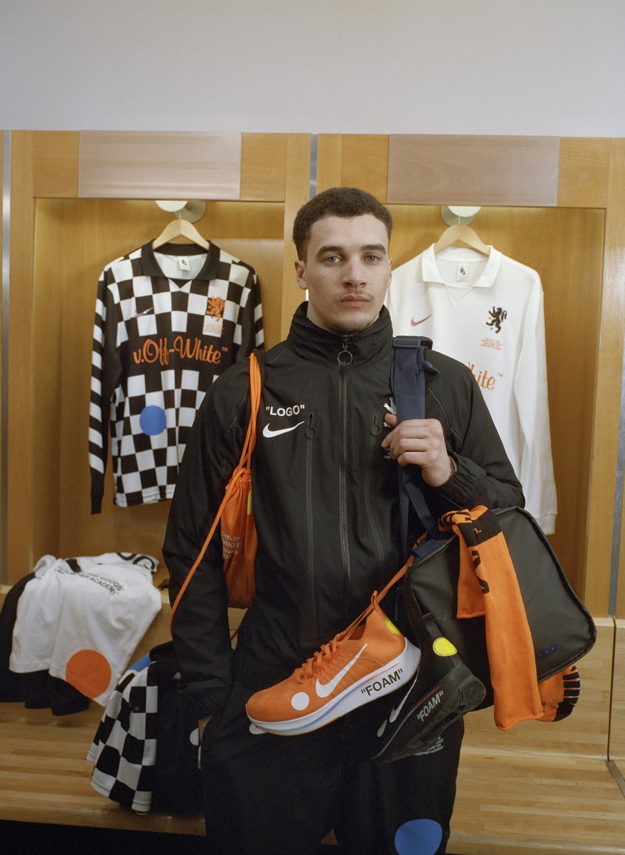 Nike x Virgil Abloh Football mon amour Collection 1