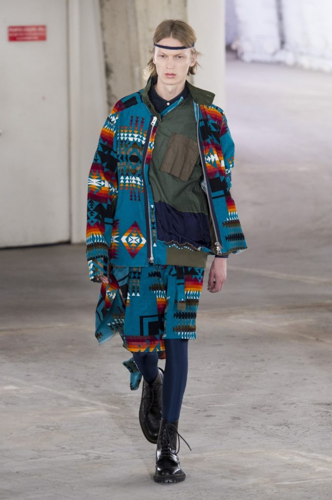Sacai Spring/Summer 2019 - Paris Fashion Week
