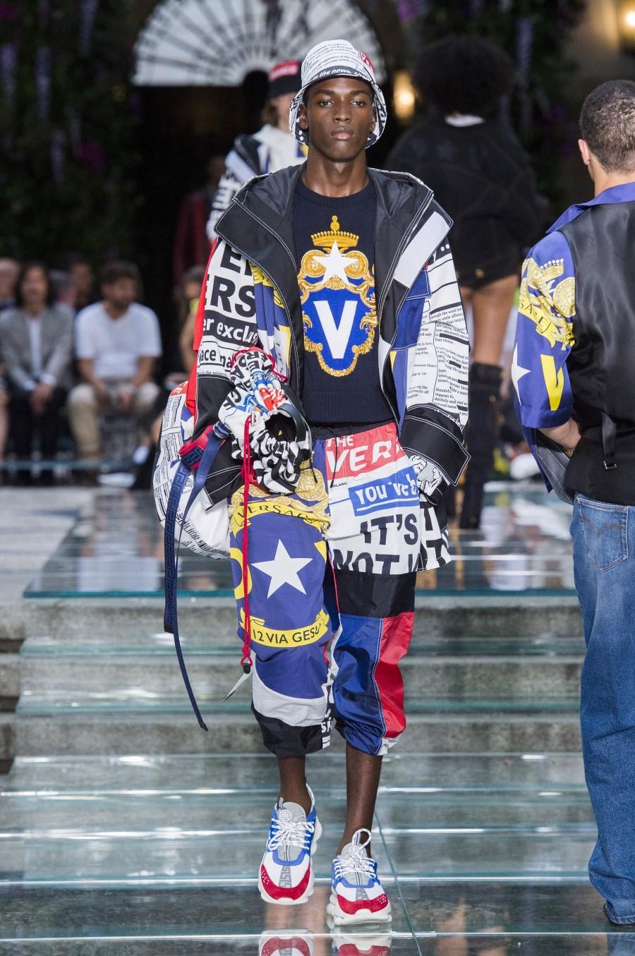 Versace Printemps/Été 2019 - Milan Fashion Week
