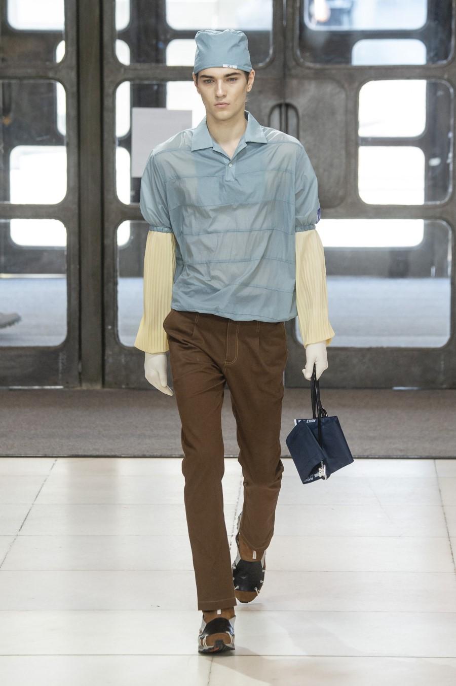 Xander Zhou Spring Summer 2019 London Fashion Week Men's 2