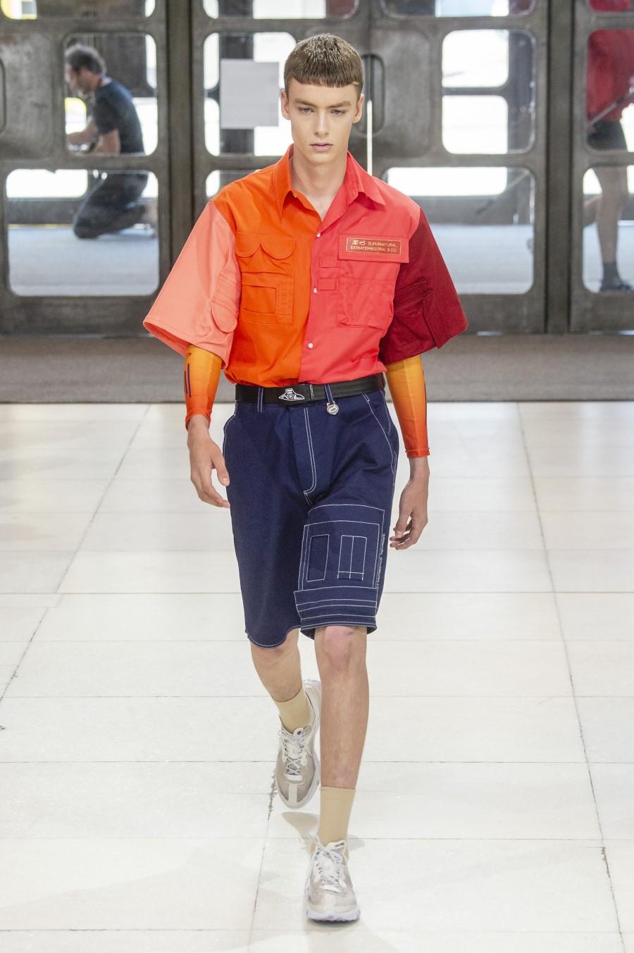 Xander Zhou Spring Summer 2019 London Fashion Week Men's 39