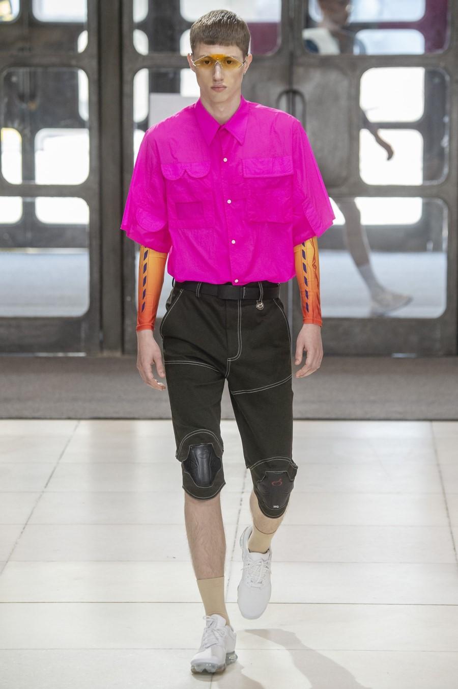 Xander Zhou Printemps/Été 2019 - London Fashion Week Men's