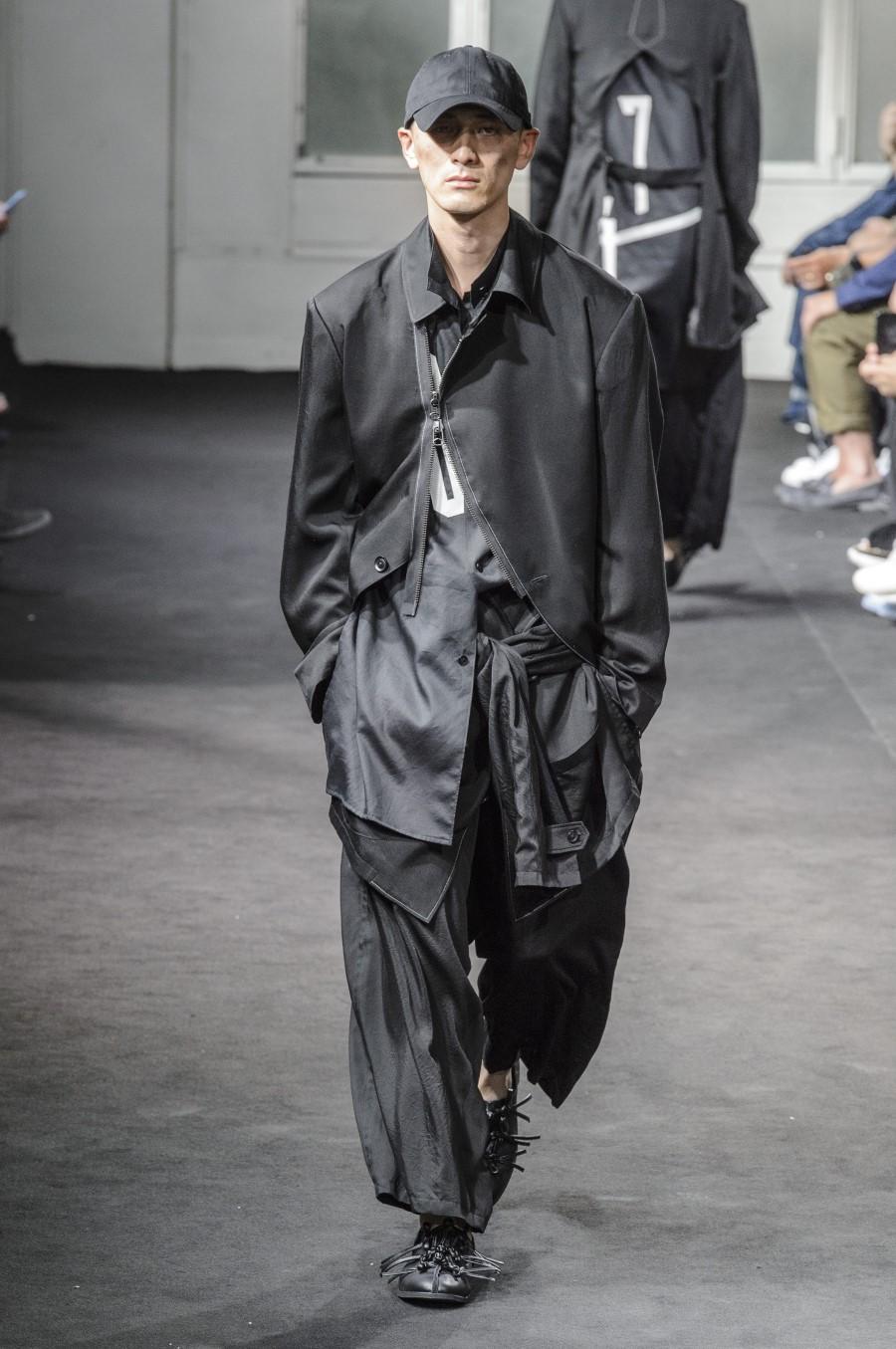 Yohji Yamamoto Spring/Summer 2019 - Paris Fashion Week