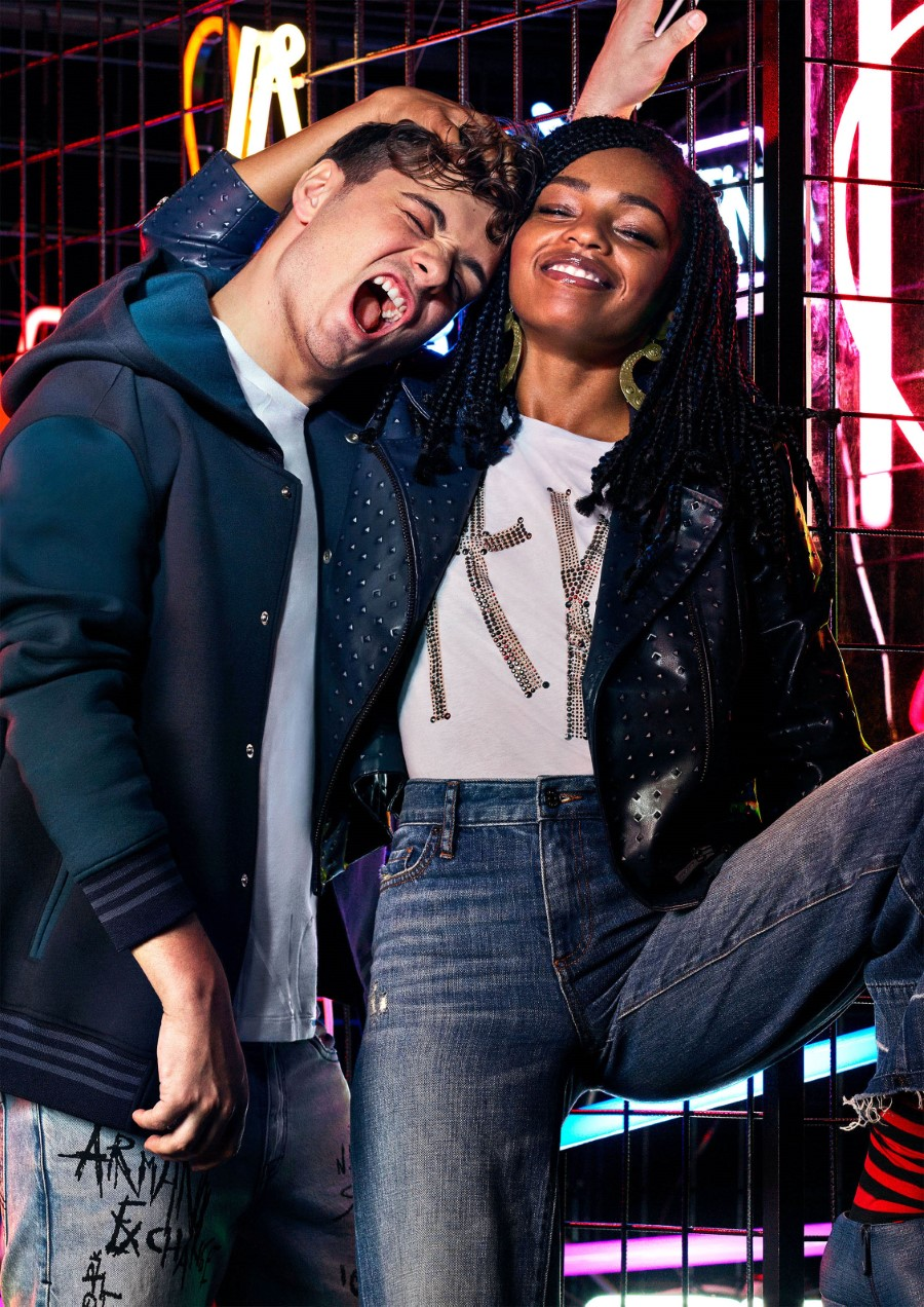 AX Armani Exchange Automne-Hiver 2018-19 - MARTIN GARRIX & SELAH MARLEY