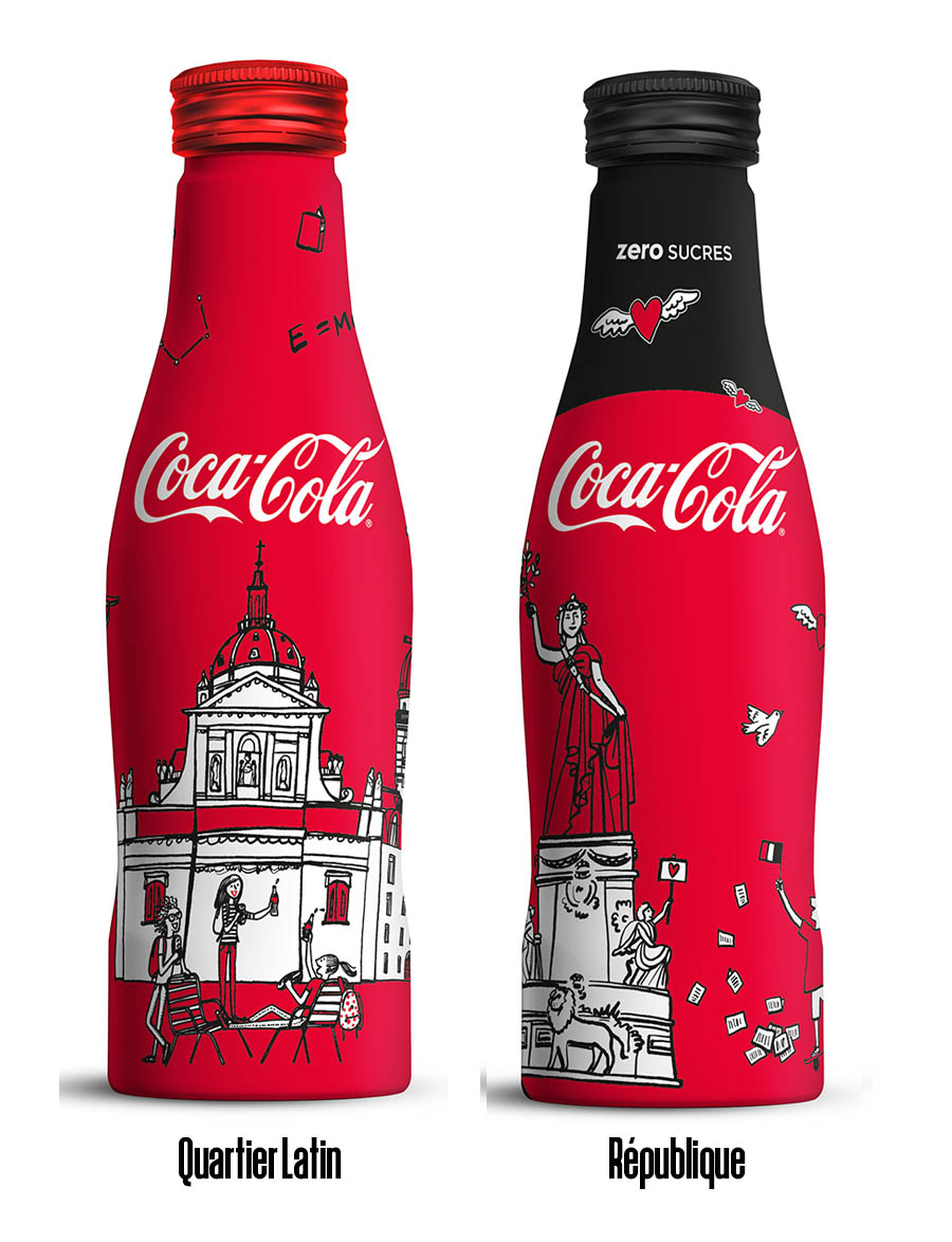 Coca-Cola Paris x Kanako