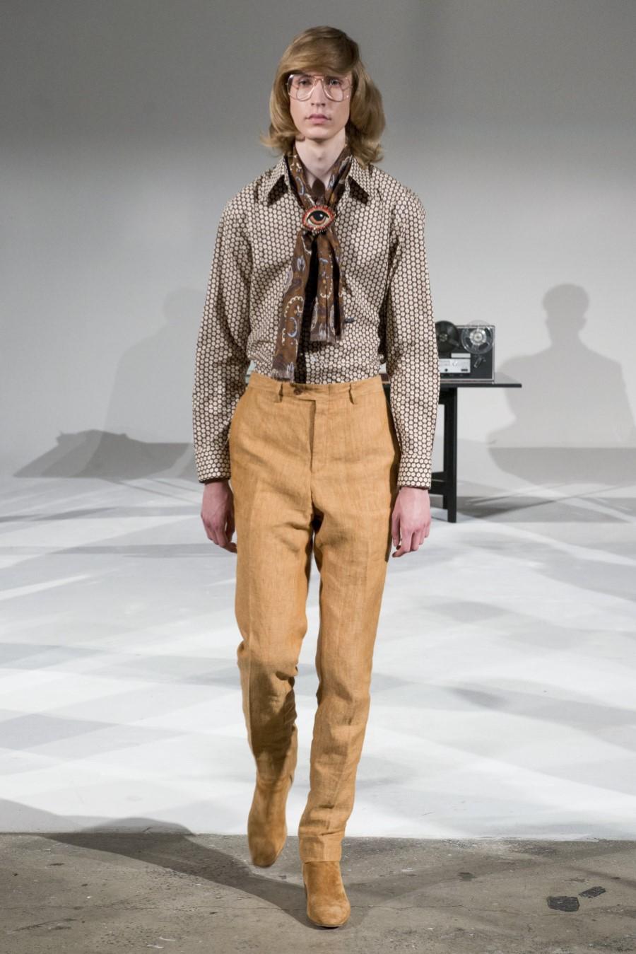David Hart Spring/Summer 2019 - New York Fashion Week Men's