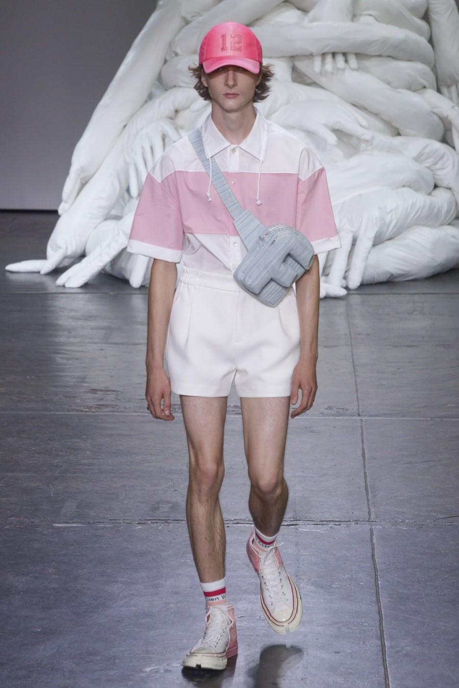 Feng Chen Wang - Spring/Summer 2019 - New York Fashion Week Men's