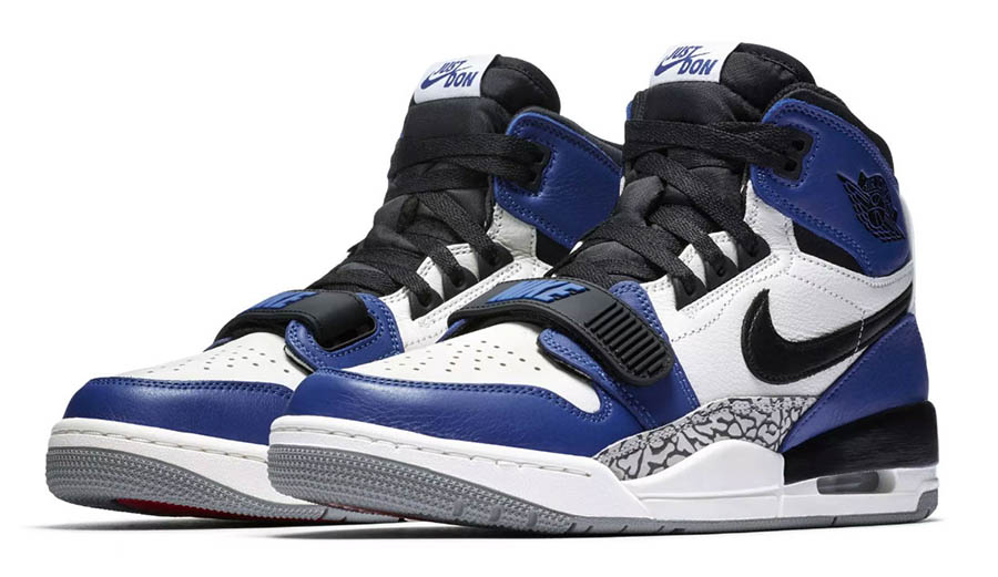 Just Don x Jordan Legacy 312 Storm Blue