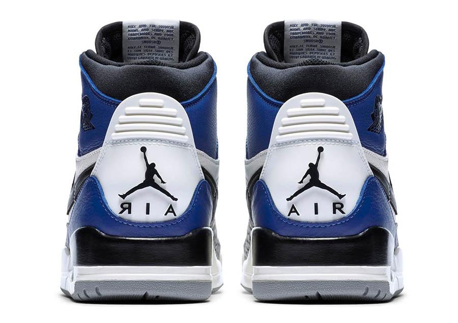 Just Don x Jordan Legacy 312 Storm Blue