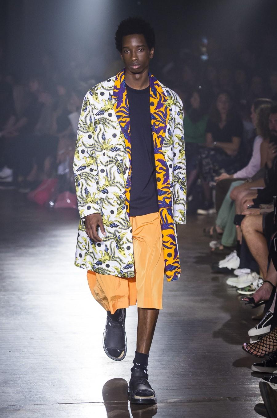 Kenzo Printemps 201 T 233 2019 Paris Fashion Week