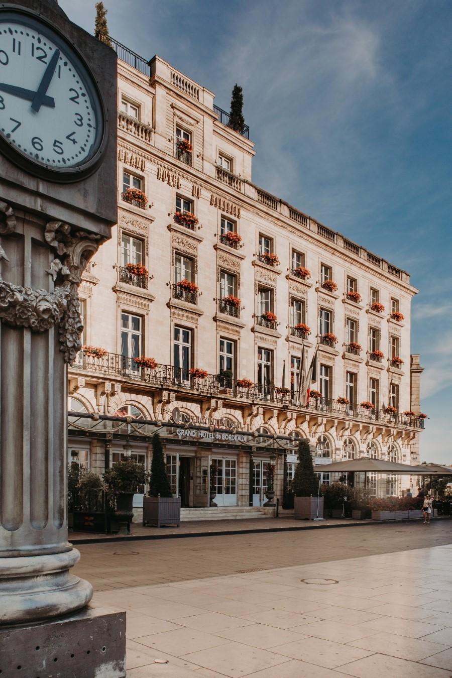L'InterContinental Bordeaux - Le Grand Hôtel élu Meilleur Hôtel de France 2018