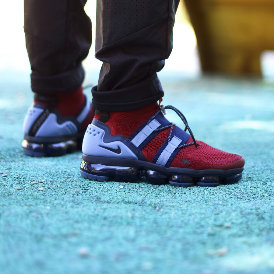 Nike Air Vapormax Flyknit Utility Team Red