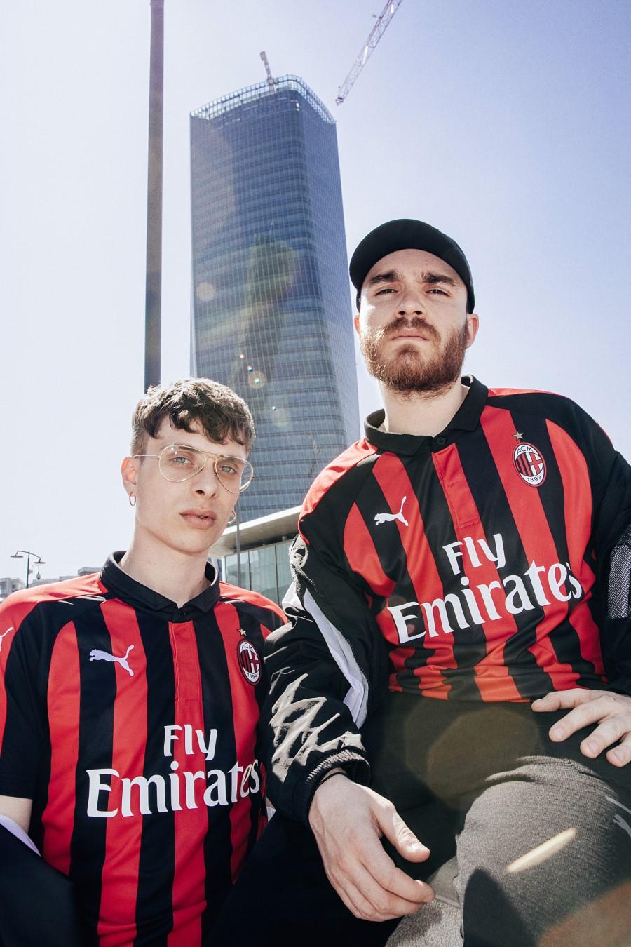 PUMA - Maillot Domicile 2018-2019 AC MILAN