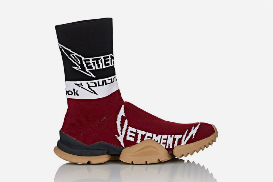 VETEMENTS x Reebok Sock Runner Automne 2018