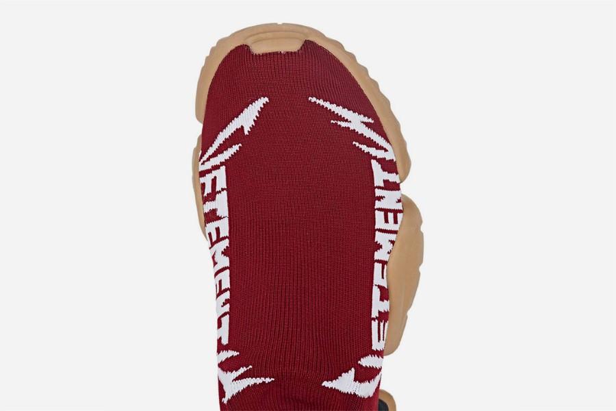 VETEMENTS x Reebok Sock Runner Automne 2018