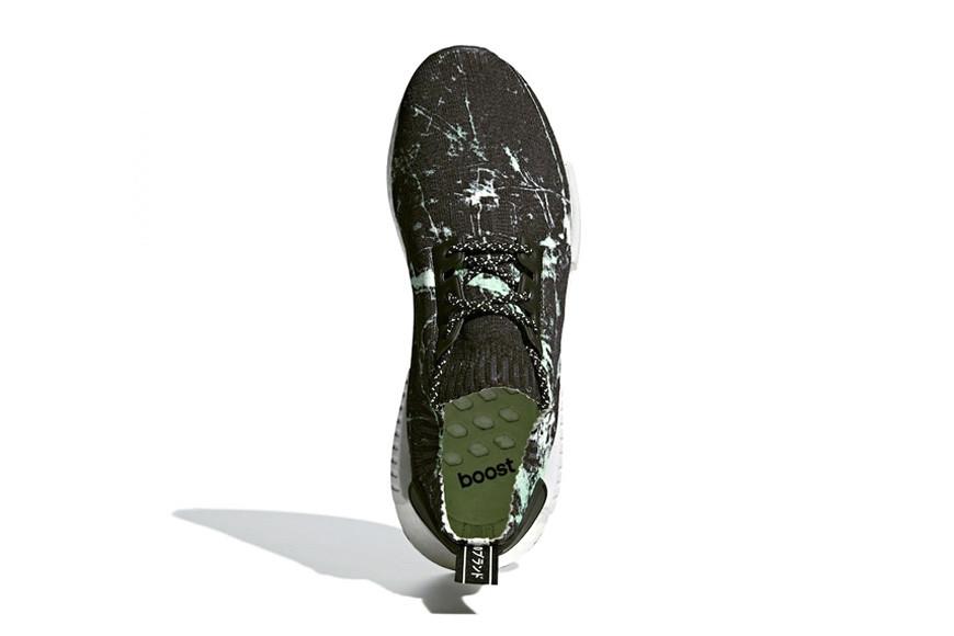 adidas NMD R1 Primeknit Green Marble
