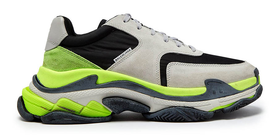 Balenciaga Triple S Grey Black Volt