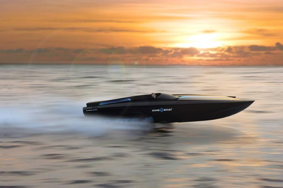 King-Boat Bagheera 50 GTS, une puissante fusée de mer bientôt en service