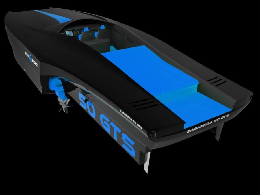 King-Boat Bagheera 50 GTS